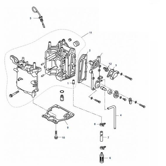 8 & 9.9 pk  (209cc) (P32500+) Mercury