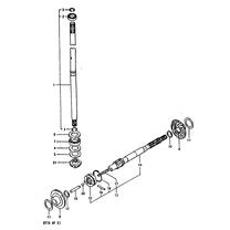 DT9.9 & DT15 (1983-1990) Staartstuk Onderdelen (2-takt)