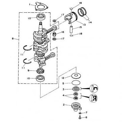50D/DE H/HEDO/HETO/HMHD/HWHDLO/HRDO & MTO Krukas Onderdelen