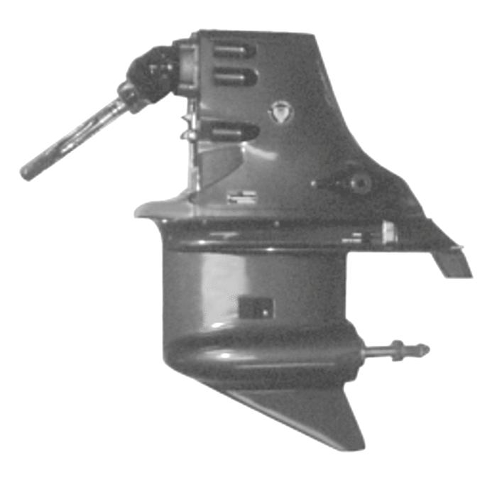 OMC Stringer 400 & 800 staartstuk (Sterndrive) onderdelen