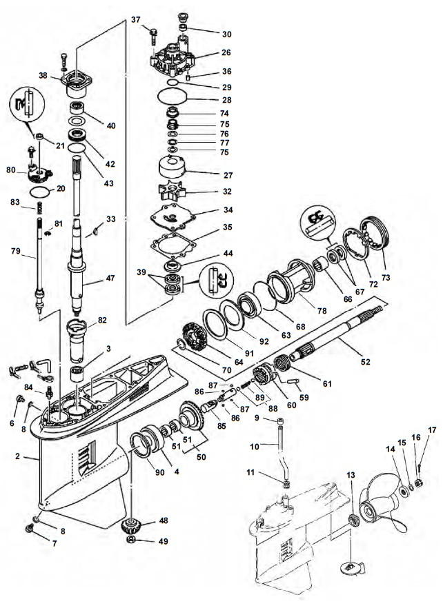 V6 (1984 en hoger)