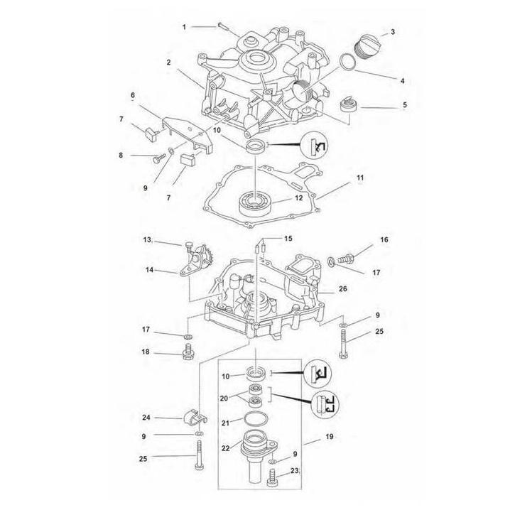 Cilinder & carter - F2.5 AMHL 2013