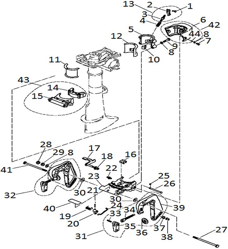F2.6 - Bracket Onderdelen Parsun