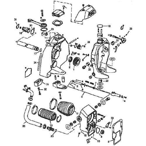 OMC Cobra (1986-1993) Transom Shield