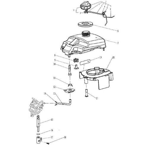 F2.6 - Interne Brandstoftank Onderdelen