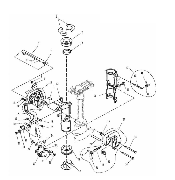 F4 & F5 - Bracket Onderdelen