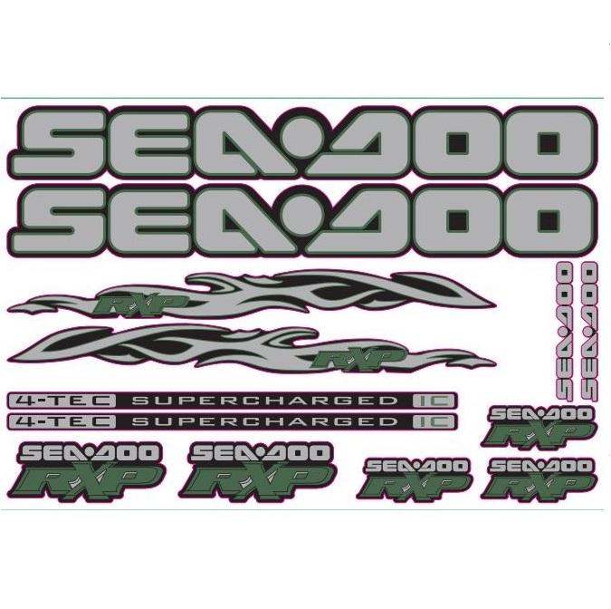 Stickersets Sea-Doo 4-takt