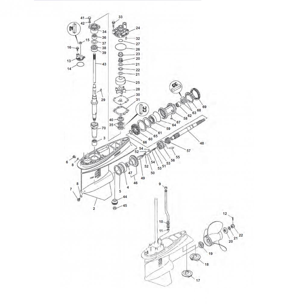 115B/C/CETO/TXRZ/TLRA - 130BETO/TLRA/TLRZ