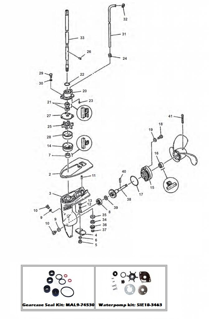 Staartstuk - 2 MSH (1984)