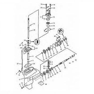 Yamaha Staartstuk Onderdelen 2 Takt Kopen