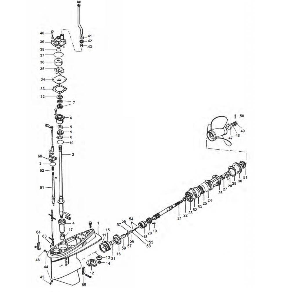 V6 2.6L - FL/F200 - FL/F225 - FL/F250